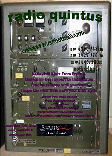 eQSL de radio QUINTUS Qsl_ra11
