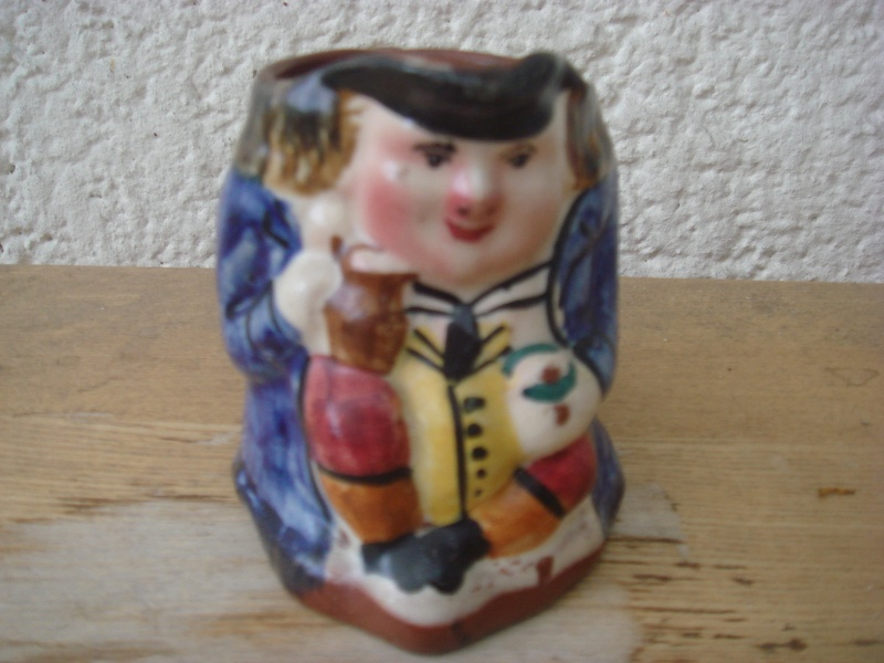 Torquay Pottery - Ugly little Face Jug Copied13