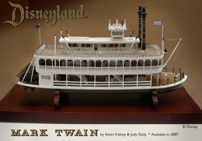 Maquette du Mark Twain (Disneyland Paris) Null_110