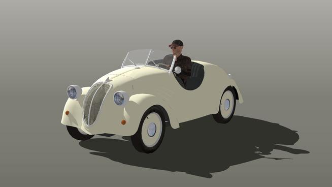 D'autres modèles 3D Fiat-n10