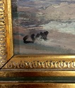 Seaside oil painting signed Cox? Image39