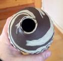 Agateware vase, RP mark  Image77