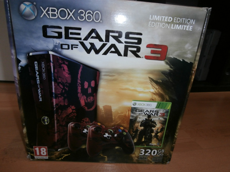 [VDS] XBOX 360 edition gears of wars 3 Pa080118