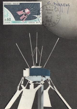 50ème anniversaire du lancement du satellite Diapason D1A / 17 février 1966 1966_010