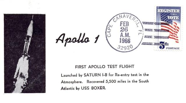 50ème anniversaire du premier vol d'une Saturn IB / 26 février 1966 1966_012
