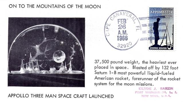 50ème anniversaire du premier vol d'une Saturn IB / 26 février 1966 1966_013
