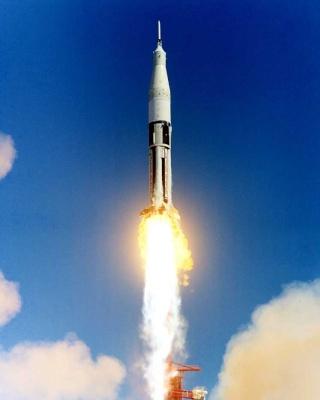 50ème anniversaire du premier vol d'une Saturn IB / 26 février 1966 As-20110