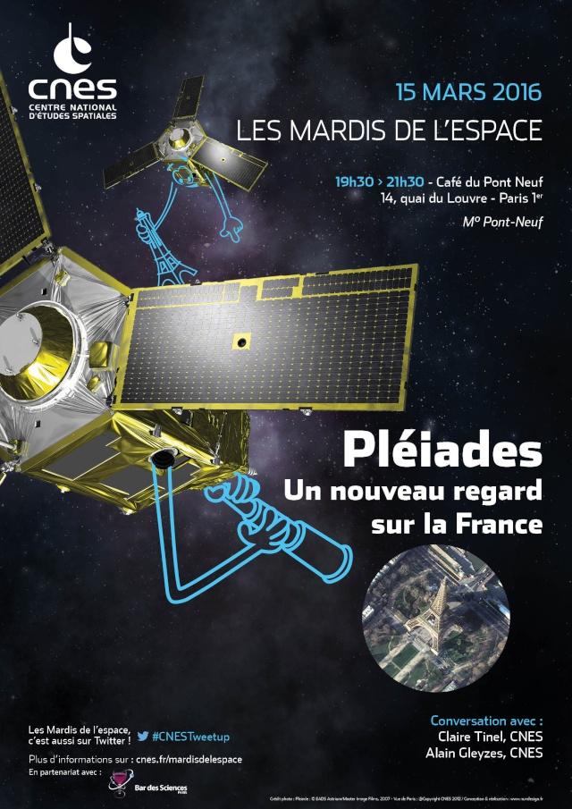 15 mars 2016 - Conférence (les Mardis de l'espace) - Pléiades : un nouveau regard sur la France Is_caf11