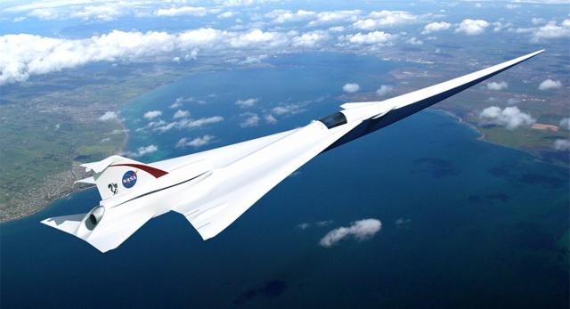 Avion supersonique commercial - le QueSST de la NASA Nasa_q10