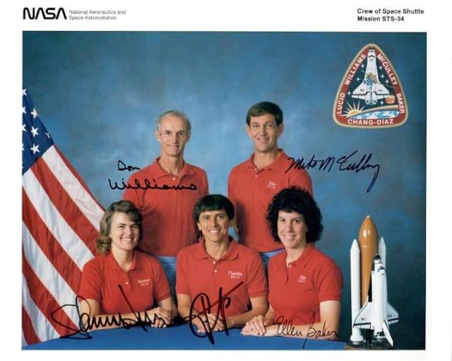 Disparition de l'astronaute Don Williams (1942-2016) Sts-3410