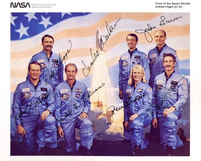 Disparition de l'astronaute Don Williams (1942-2016) Sts-5110