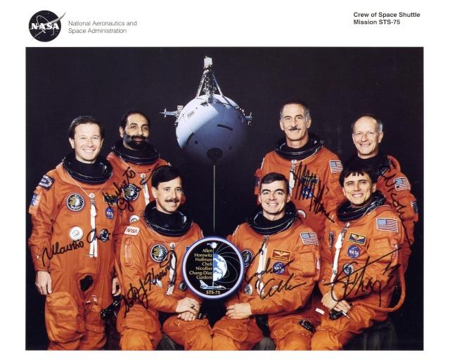 20ème anniversaire de la mission STS-75 / 22 février 1996 Sts-7510