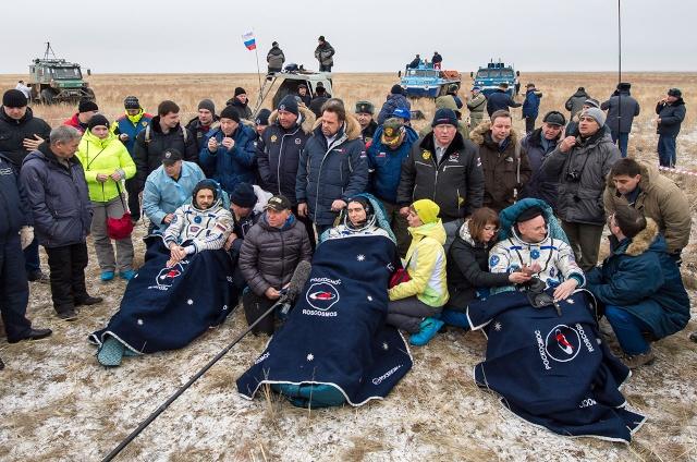 ISS ONE YEAR / Mission d'un an sur l'ISS - Déroulement de la mission Tma-1810