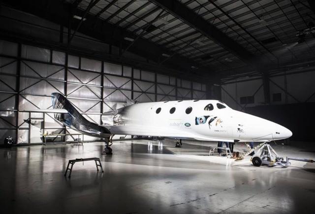 [SpaceShipTwo] Roll-out du prototype n°2 annoncé pour le 19 février prochain et préparatifs au 1er vol Vss_un10