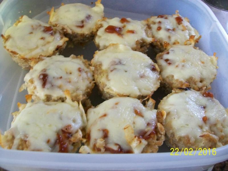 Mini pains de viande au dindon 2016-015