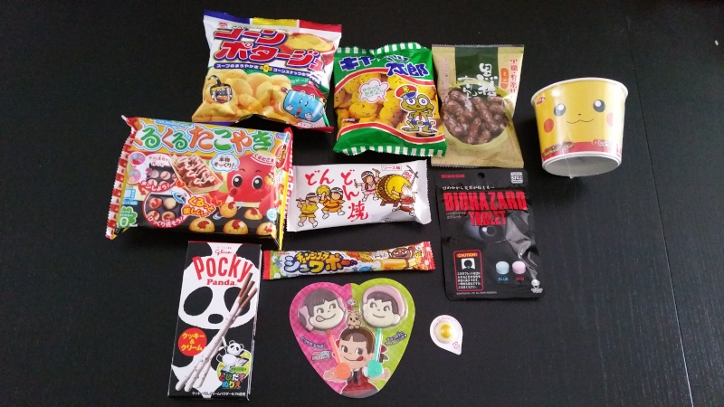 [Snacks & Bonbons Japonais] Foodjibox par Hitek 20160210