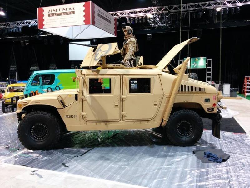 Humvee au Salon de l'Auto de Québec 1 mars - 6 mars 2016 Centre de Foires de Québec 250 boulevard Wilfrid-Hamel Québec 12717910