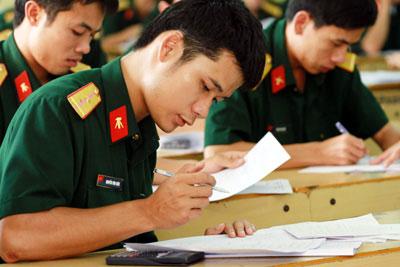 Hướng dẫn đăng ký sơ tuyển vào đại học, cao đẳng quân sự năm 2016 Tuyen-10