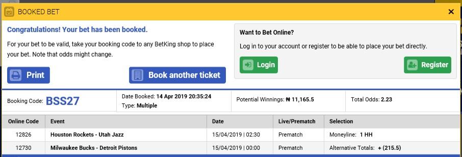 15th April Basketball free prediction 2.33 Odds Untitl16