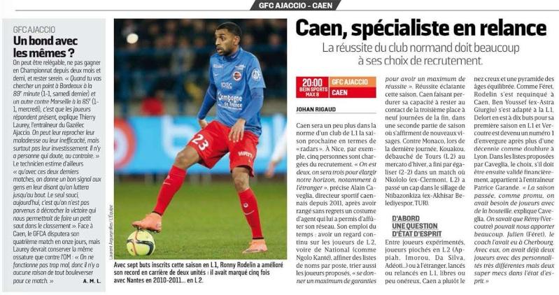 [30e journée de L1] GFC Ajaccio 1-0 SM Caen Lequip10