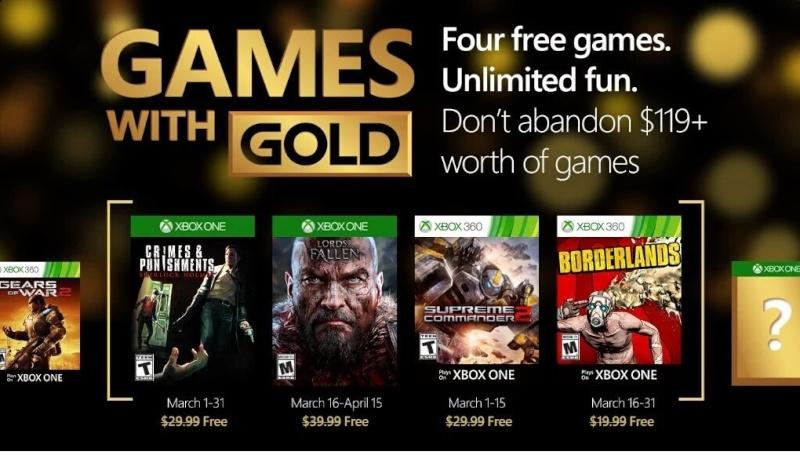 Les Jeux Inclus avec le PSN+ et Gold - Page 2 Xblmar10