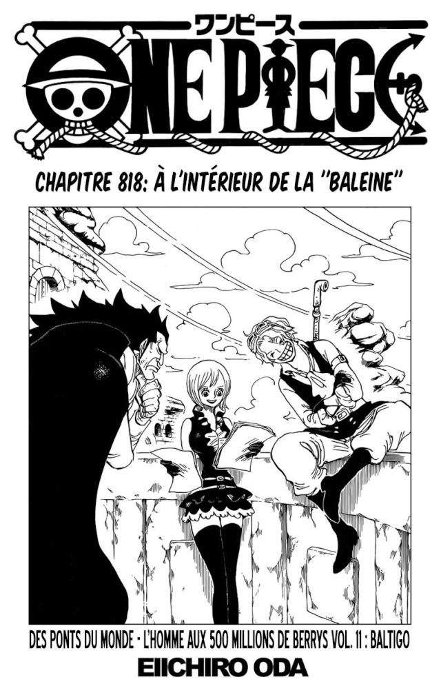 One Piece Chapitre n°818 Op10