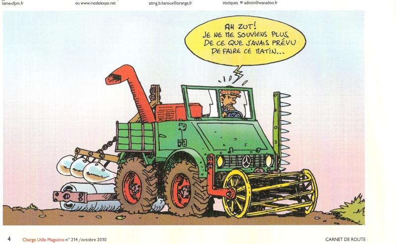 Unimog et MB Trac pour une utilisation agricole dans le monde  - Page 11 Numari11