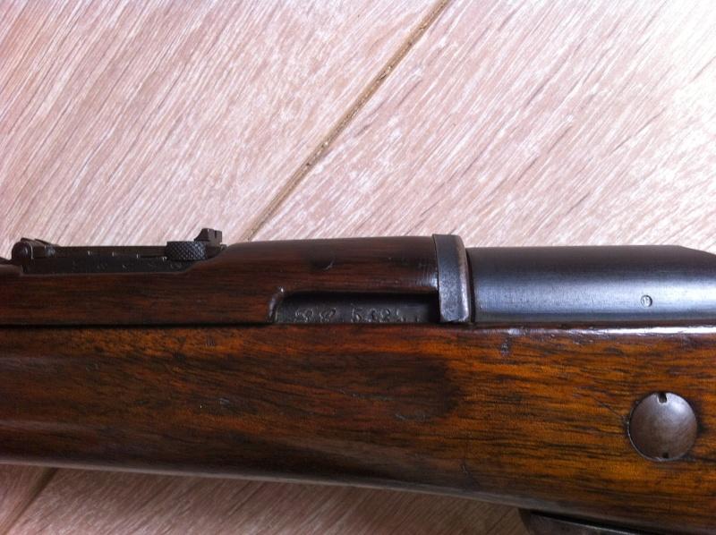 Mon mousqueton 1892 M16 Img_1615