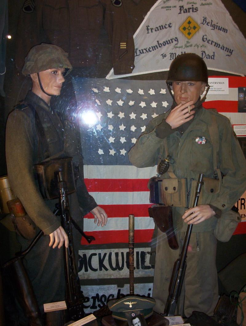 Musée de la 101 st Airborne à Bastogne Diekir11