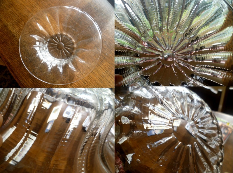 10.5 inch glass bowl I thought was Dartington. Possibly Webb or Whitefriars Abowl10