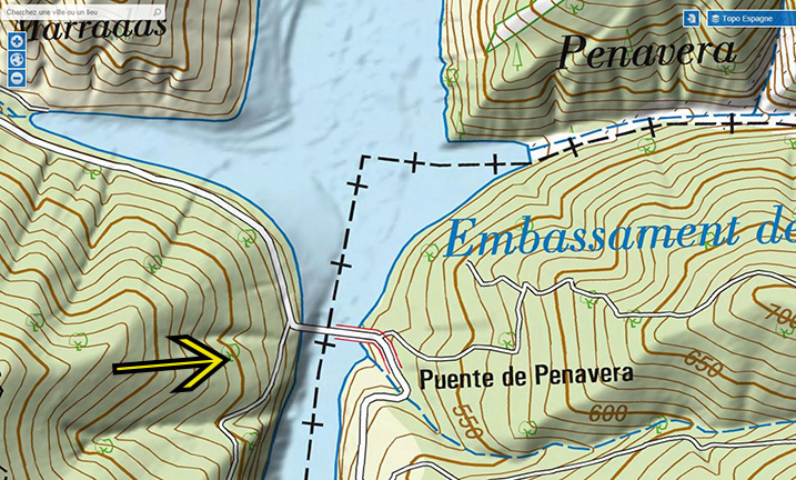 Quelles cartes routière détaillées pour l'Espagne et ou Portugal Screen13