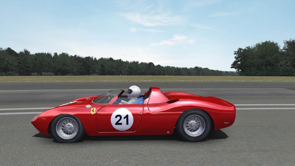 250P Ferrari LeMans Winner WIP  250p4110