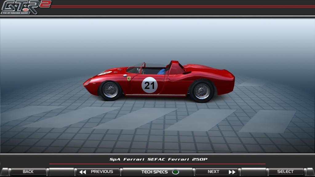 250P Ferrari LeMans Winner WIP  Gtr2_o12