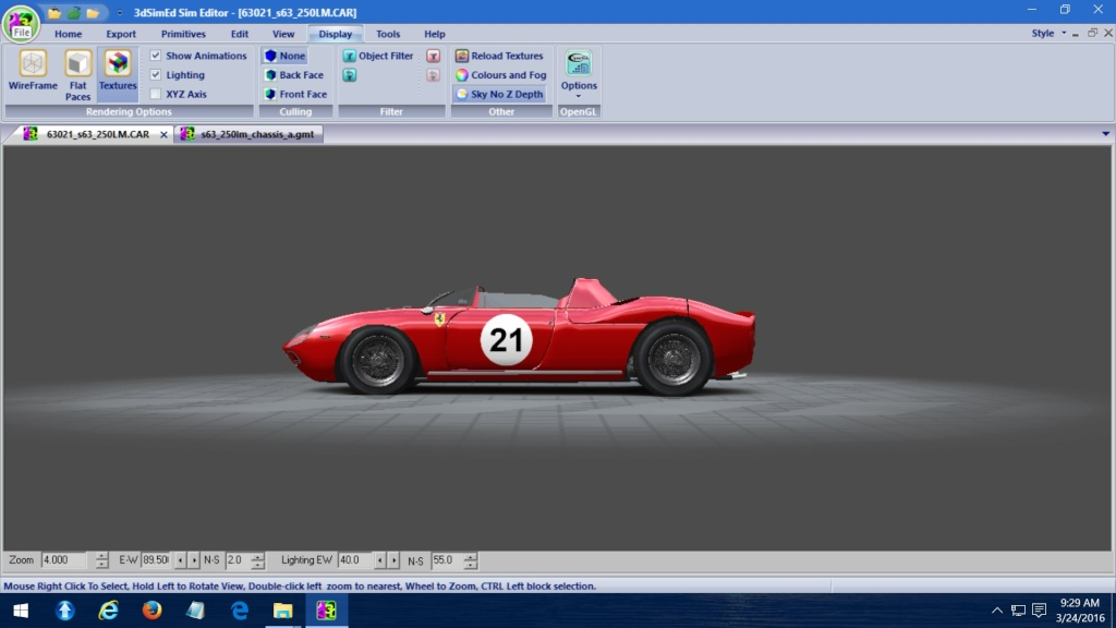 250P Ferrari LeMans Winner WIP  - Page 2 Short10