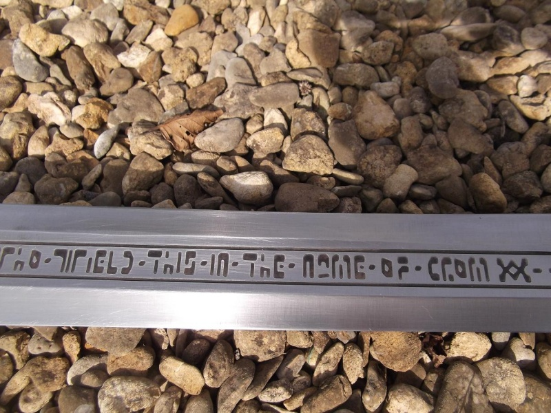 Handmade functional Conan Father's Master's sword for sale Fat_710