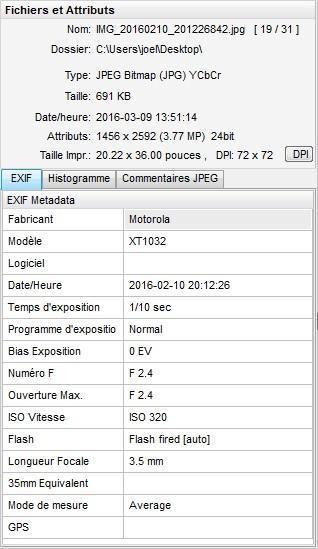 2016: le 10/02 à 20 h 12 - Boules lumineuses en file indienne -  Ovnis à SABLÉ-SUR-SARTHE (72300) - Sarthe (dép.72) Exif11