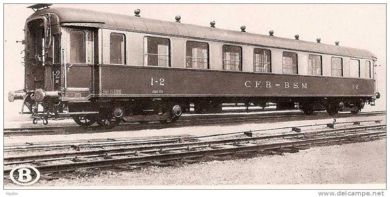 JCF3F - 2, voitures I1 SNCB 12776910