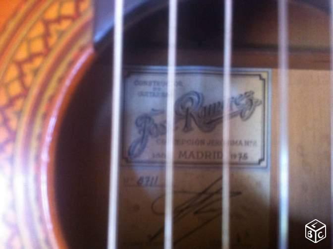 flamenca jose ramirez 1976 Etiq_r11