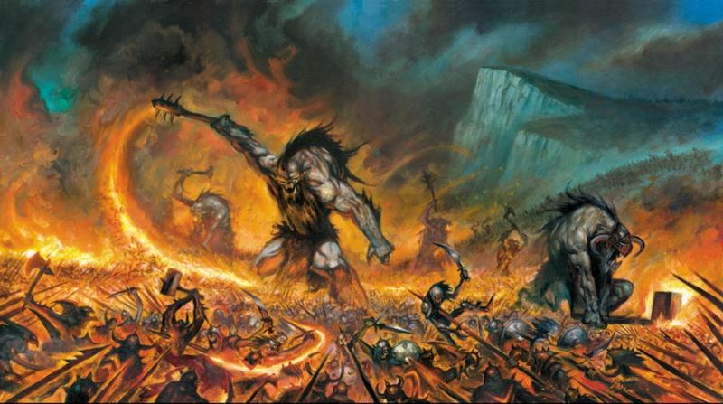 Arawn seigneur de la terre brûlée Battle10