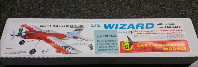 For Sale NIB Carl Goldberg Lil Wizard Control Line Kit G1_tif10