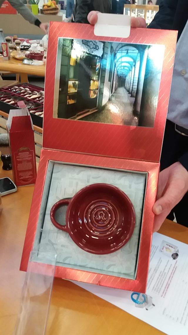 """Gamme de 5 produits de rasage Omega """"Via Barberia"""" 20160313"""
