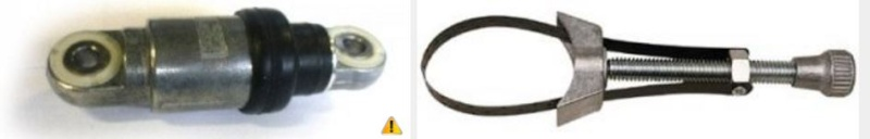 Cherche 2 galets métalliques Réf 10602009G pour Chrysler GD Voyager 2.5TD 1999 Captur63
