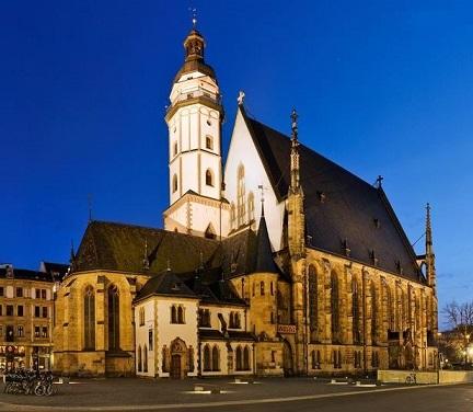 Mendelssohn, Schumann, Brahms et l'orgue romantique allemand Leipzi10