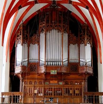 Mendelssohn, Schumann, Brahms et l'orgue romantique allemand Leipzi11