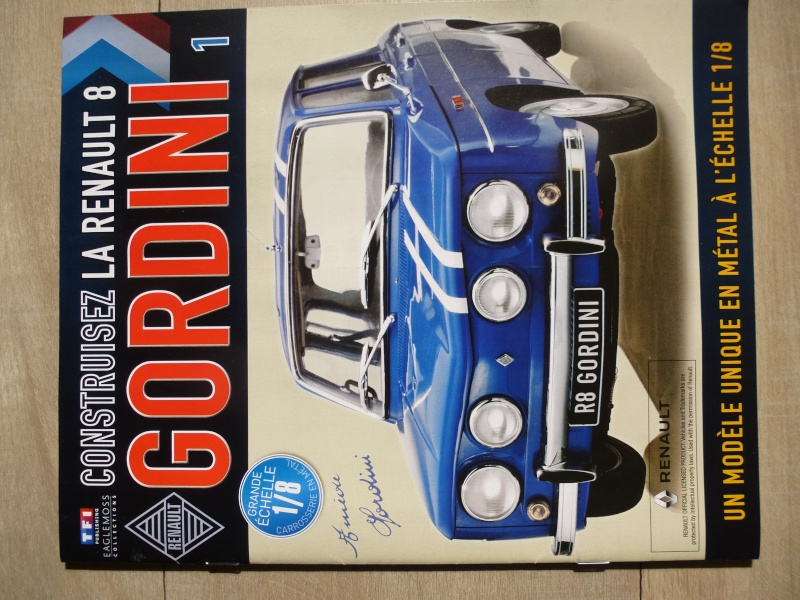 Une future R8 Gordini à l'échelle 1/8 eme P1080416