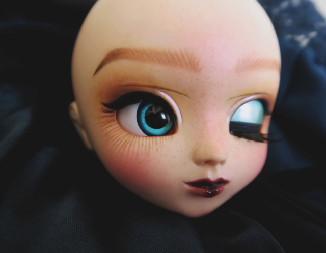 ╰☆ Makeup Nekamiel Doll ☆ ouvert ! Pullip ooak bas p7 02-11