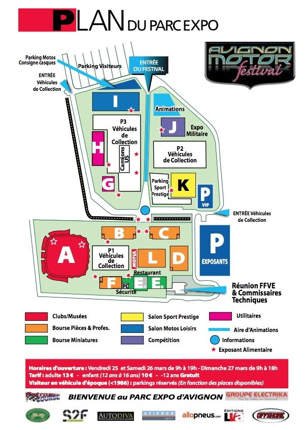 AVIGNON MOTOR FESTIVAL 2016 Plan10