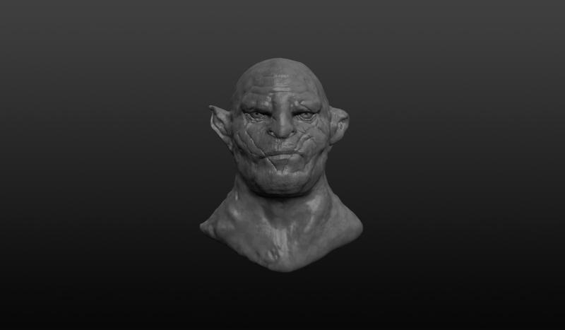 Sculptris Azog10