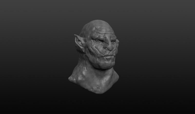 Sculptris Azog210