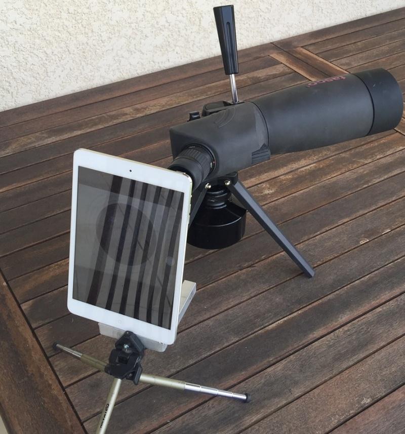 Test Ecran sur lunette Tasco X 60 Ipad10